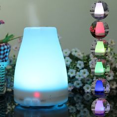 Essential Oil Diffuser,URPOWER® Aromatherapy Essential Oil Diffuser Portable Ultrasonic Aroma…