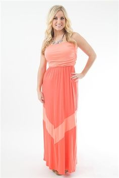 """Ready to Mingle"" Maxi -- hot trend! www.pinkslateboutique.com"