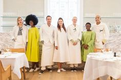 Server Uniforms at Spring in Somerset House in London | Remodelista