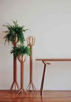 COE Floor Lamps //   Diseño:Rebeca Cors  Geometría y naturaleza aplicado en de diseño de lámparas.   www.rebecacors.com