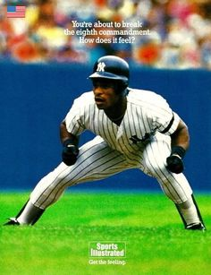 Ricky Henderson Yankees - the greatest lead off hitter and base stealer in history. He could completely take over a game and he have pitchers fits at the plate and once he got on base. One of the best to ever play the game! Yankees News, New York Yankees Baseball, Mlb, Baseball Pictures, Baseball Stuff, Rickey Henderson, Damn Yankees, Sports Figures, Sports Photos