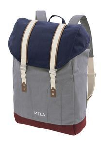 Large water resistant backpack with vegetable-tanned leather, nickel free buckles & laptop pocket. Organic Cotton certified by Fairtrade Standard & GOTS. Herschel Rucksack, Laptop Rucksack, Fila Sneaker, Good Brands, Expensive Watches, Sustainable Clothing, Vegetable Tanned Leather, Shoulder Pads, Gray