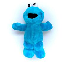1996 Tickle Me Cookie Monster Blue Plush Tyco by CuteVintageToys