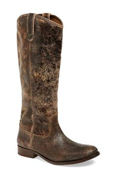 frye riding boots.