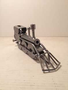 Train Metal Art
