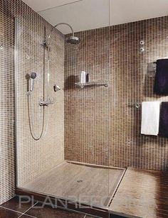 1000 images about decoracion de ba os on pinterest - Azulejos para duchas de obra ...