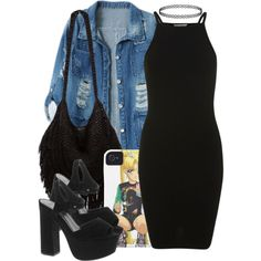 Aquarius ♒️ by queenbrittani on Polyvore featuring Miss Selfridge, Chicnova Fashion, ASOS, Indah, fashionista and 90s