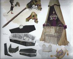 Living Lines Library: Hotel Transylvania (2012) - Visual Development: Props