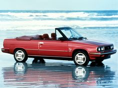 1980 Renault Alliance Convertible manufactured in EUA by AMC+Kenosha, on Wisconsin. Convertible, Matra, Turbo Car, Nissan Infiniti, Cabriolet, Car Logos, Car Brands, Cars And Motorcycles, Vintage Cars