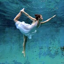 Floating yoga.