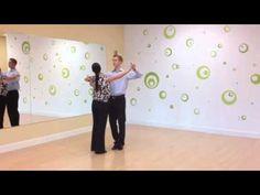 Foxtrot Promenade with Underarm Turn - YouTube