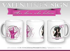 Introducing new ILY designs for Valentine's Day mugs & more.  #ASL #AmericanSignLanguage #SignLanguage #Deaf #love #valentines #fingerspelling #ILY L Love You, My Love, Alphabet Charts, American Sign Language, Valentines Day, How To Apply, Posts, Mugs, Blog