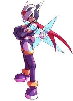 Phantom - Characters & Art - Mega Man Zero