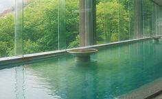 第一滝本館  7種類の泉質 源泉かけ流し  登別温泉 北海道 Japan
