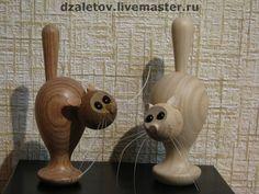 Купить или заказать КОШКА в интернет-магазине на Ярмарке Мастеров. цвет кошки зависит от породы дерева, ее размер - от желания заказчика (цена пропорциональна размеру и породе дерева) Всех моих кошек можно посмотреть по ссылке: www.livemaster.ru/dzaletov?