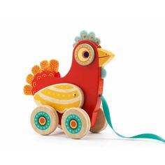 Djeco Polka Pull Along Toy