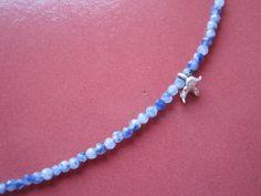 soft blue necklace
