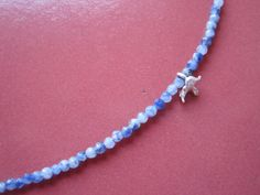 soft blue necklace