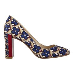 Fabrice Round Toe Pumps
