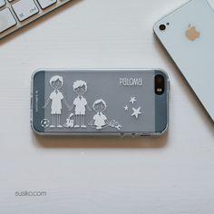 Una funda de móvil para presumir de familia. Personaliza la tuya
