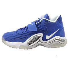 Nike Air Zoom Turf Jet '97 Mens 554989-401 Hyper Blue Training Shoes Size 11.5