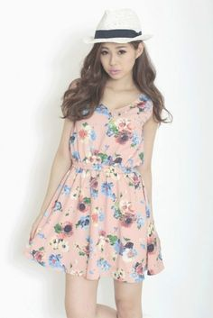 Royal Party ー 【WEB限定】花柄ワンピース / Flower prints dress on ShopStyle