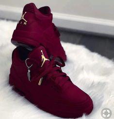 outlet store 6b829 6330b Burgundy Jordans, Red Burgundy, Burgundy Shoes, Jordan Sneakers, Cute  Sneakers, Green