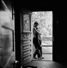 Larry Fink, 'Lovers in the Doorway, Houston, TX,' 1958, Galerie Julian Sander