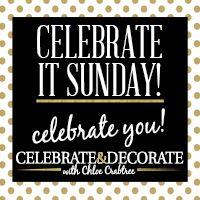 Celebrate It Sunday! Link Party