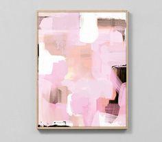 Abstract Art Printable Modern Home Decor Modern by DanHobdayArt