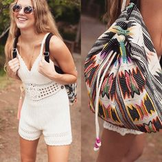 New bags just hit the website! Headed to Bonnaroo this weekend? This bag is perfect! Shop our Trendy Navajo Inspired Multi-Colored Beaded Backpack now under new arrivals at www.lotusboutique.com! #ootd #instafashion #lotusboutique #lotusootd #boho #festiv