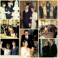 On this day (December 29) in 1983, Princess Caroline and Stefano Casiraghi were civilly married at the Princely Palace of Monaco.