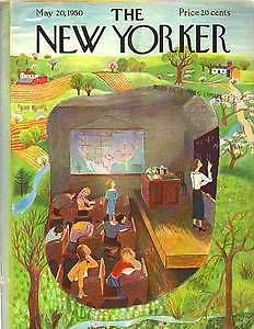 1950 New Yorker May 20 - Spring Fever in the Schoolroom