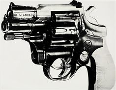 ANDY WARHOL, #guns
