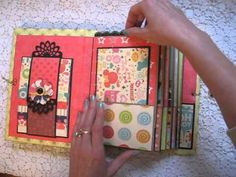 Disney Scrapbook Paper Bag Mini Album
