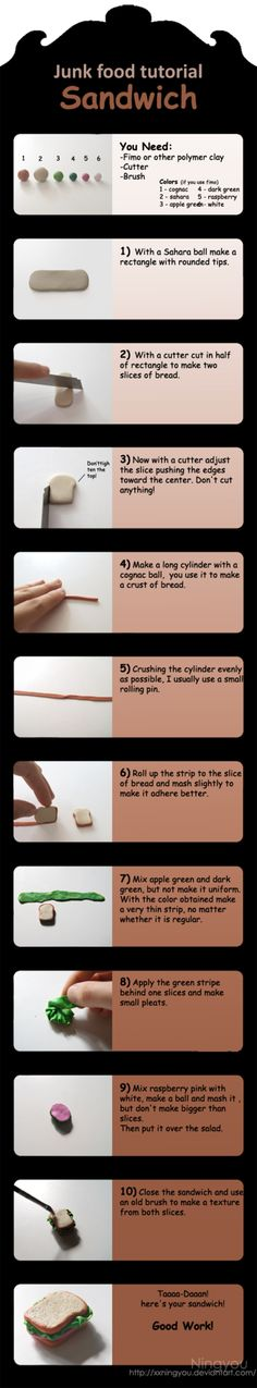Sandwich tutorial by ~XxningyouxX on deviantART