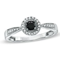 Divorce ring. Zales. #sale #blackdiamond #trashthedress