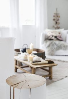 House of C | Interior blog: Wondeful white living
