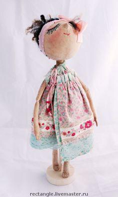 """Коллекционные куклы ручной работы. Ярмарка Мастеров - ручная работа """"Маринка""""___текстильная кукла. Handmade."""