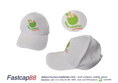 หมวกสีขาวทั้งใบ 5 ชิ้น เป็นงานสกรีน ลูกค้าสั่งทำในจำนวน 200 ใบ ตอนนี้หมวกได้ถูกส่งให้ลูกค้าเเล้วครับ #ทำหมวก #ผลิตหมวก
