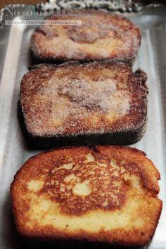 No solo dulces - Torrijas rellenas de crema