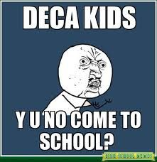 ICDC , CDC, Districts aha.People tend to miss us deca kids.