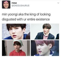 This is why I love Yoongi