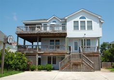 Twiddy Outer Banks Vacation Home - Seabiscuit I - Corolla - Oceanside - 6 Bedrooms