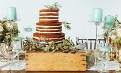 Mint, Gold and Blush Wedding Inspiration Shoot Perfect Wedding, Our Wedding, Late Summer Weddings, Naked Cakes, Mint Gold, Wedding Decorations, Table Decorations, Real Weddings, Wedding Inspiration