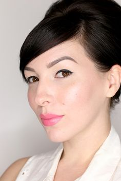 mac cosmetics chatterbox lipstick swatch pink lipstick
