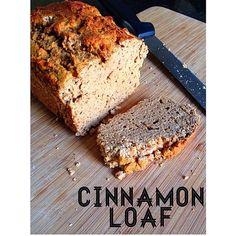 Cinnamon Loaf Bread (applesauce, apple cider vinegar, coconut flour)   ripped recipes