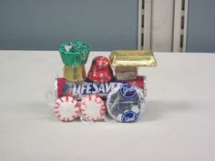Picture of Candy Train w/ step by step instructions - I think this one looks the most real.