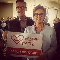 Ligia Krajewska i Robert Maciaszek zachęcają do akcji #KochamPolskę