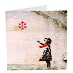Banksy Christmas cards - Google Search Holiday Cards, Christmas Cards, Xmas, Banksy, Handmade Christmas, Card Ideas, Card Making, Bee, Crafty